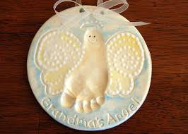 how to make baby footprint ornament google search things that