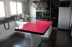 table cuisine design table de cuisine afdesign fushia afdesign le