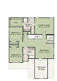 Dollhouse Floor Plans The Carteret New Homes In Raleigh Nc Royal Oaks Homes