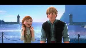 film frozen jokes frozen kristoff and anna true love romance disney this kiss
