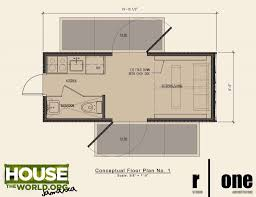 Large Cabin Floor Plans Extraordinary Shipping Container Cabin Floor Plans Pictures