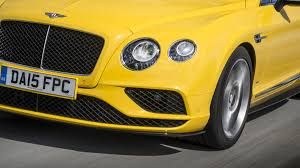 bentley yellow 2016 bentley continental gt review price specs and photo gallery