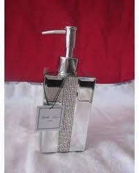 amazing deal on bella lux mirror rhinestone crystal soap lotion