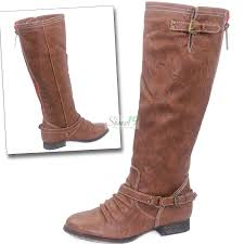 fashion women mid knee high boots
