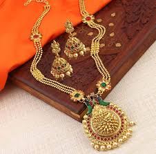 gold plated necklace set images Gold plated necklace set buy online latest gold plated necklace jpg