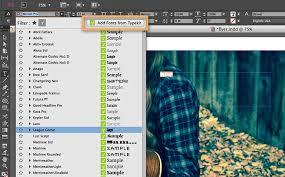 make a flyer in indesign adobe indesign cc tutorials
