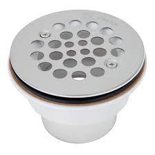 plastic shower drain upc stainless steel strainer pvc 2