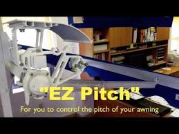 Alutex Awnings Alutex Ez Pitch Control Youtube