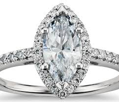 marquise halo engagement ring marquise cut halo engagement ring in 18k white gold shop