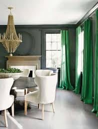 emerald green curtain panels striking curtains dark grey walls