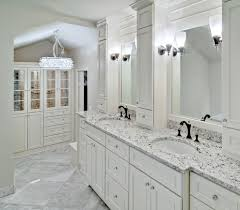 Bathroom Wall Dressing And Cupboards Kitchen White Ice Granite Bathroom Vanity With White Cabinet Big