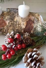 diy birch wood candle holder hometalk