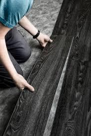 Black Vinyl Plank Flooring Black Vinyl Planks For The Home Pinterest Plank Garage