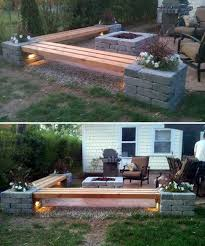 The Firepit Diy Corner Bench Around The Firepit 31 Insanely Cool Ideas To