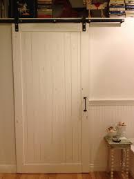 Barn Door On Bathroom by White Interior Barn Doors Image Collections Glass Door Interior