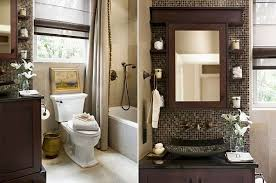 Modern Bathroom Colour Schemes - bathroom design color schemes warm accent walls color schemes