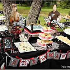 wwe birthday party wrestling birthday party favors pinterest