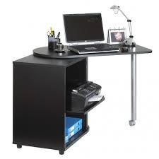 bureau informatique noir table informatique pas cher bureau longueur 100 cm lepolyglotte