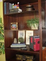 Decorating Bookshelves Ideas by Bookshelf Decore Upcycled Finds Decore Pinterest Decorating