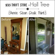 Painted Furniture Ideas Before And After Front Porch Decor 35 Hall Tree Annie Sloan Chalk Paint Annie