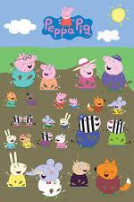 peppa pig poster ebay