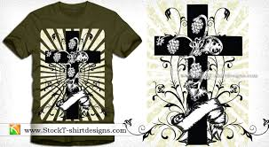 cross with sunburst floral and vector graphic design
