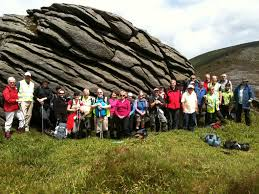 sunday 24 june joint walk with fingal walking club blackstairs combined