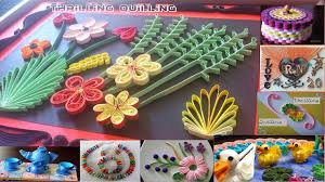 thrilling quilling birthday card