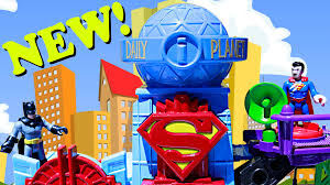 batman v superman imaginext playset and giant blue dinosaur with batman v superman imaginext playset and giant blue dinosaur with pirate ship and power rangers sets youtube