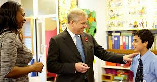 paddington nursery duke of york visits student mentors at paddington nursery get