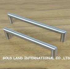 Stainless Steel Kitchen Cabinet Handles by 160mm D12mm Free Shipping Nickel Color Stainless Steel Long