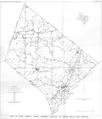 Texas Map By County Groundwater Bulletins Texas Water Development Board