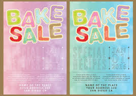 bake sale cards free vector stock graphics images