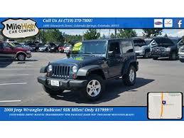 2008 jeep wrangler rubicon 2008 jeep wrangler rubicon for sale with photos carfax