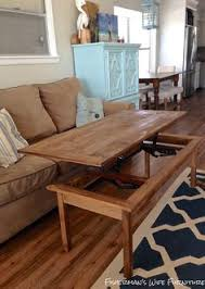Wooden Coffee Table Plans Diy by How To Build A Lift Top Coffee Table Full Instructions For This