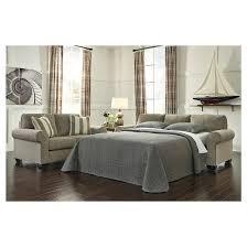 baveria queen sofa sleeper fog signature design by ashley target