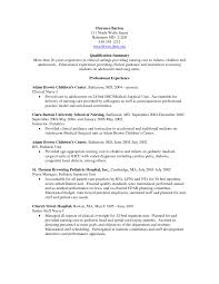 sle nursing resume personal philosophy statement for early childhood education auto