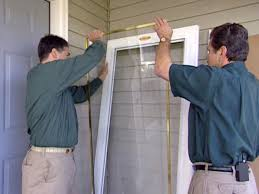 How To Install A Prehung Front Door How To Install A Storm Door From A Kit How Tos Diy