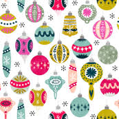 ornament fabric wallpaper gift wrap spoonflower