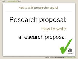 what is the research proposal detailed outline of research