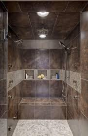 32 best bathroom ideas images on pinterest bathroom ideas room unique small bathroom interior decorated with brown ceramic tile shower designs in contemporary style for bathroom inspiration