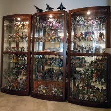 curio cabinet custom made curio cabinets cabinet built in