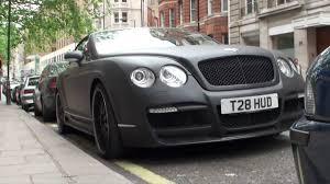 matte black bentley flying spur bentley continental gtc matt black walkaround on berkeley street