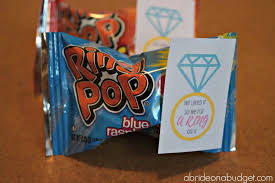 engagement party favors he liked it so he put a ring on it diy ring pop engagement party