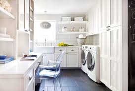 an airy laundry room makeover designed for style and function