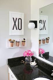 bathroom ideas for apartments bathroom diy makeup organizer organization small bathroom