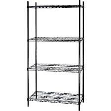 White Wire Shelving Unit by Shelves Floating U0026 Wall Shelving Units Staples