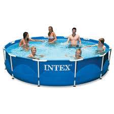 Intex Ultra Frame Pool 14x42 Swimming Pools Pool Above Ground Swimming Pools In Ground