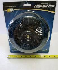 12 volt clip on fan auto expression 83106 clip on oscillating fan 12 volt dc ebay