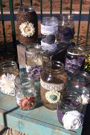 burlap bulk rustic wedding decor 15 bulk burlap lace jars lanterns